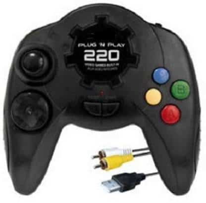 AOKO 1 220 video game plug n play tv game console 1 clubics na original imafud87gpzbjkme
