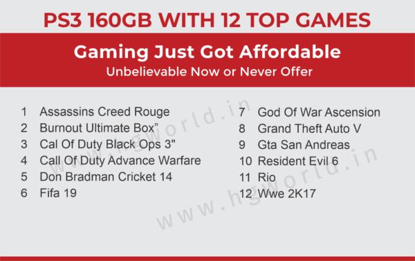 PS3 160GB 1